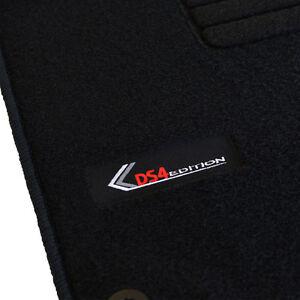 details sur 4 tapis sol citroen ds4 1 6 vti thp hdi 2 0 hdi moquette logo edition sur mesure