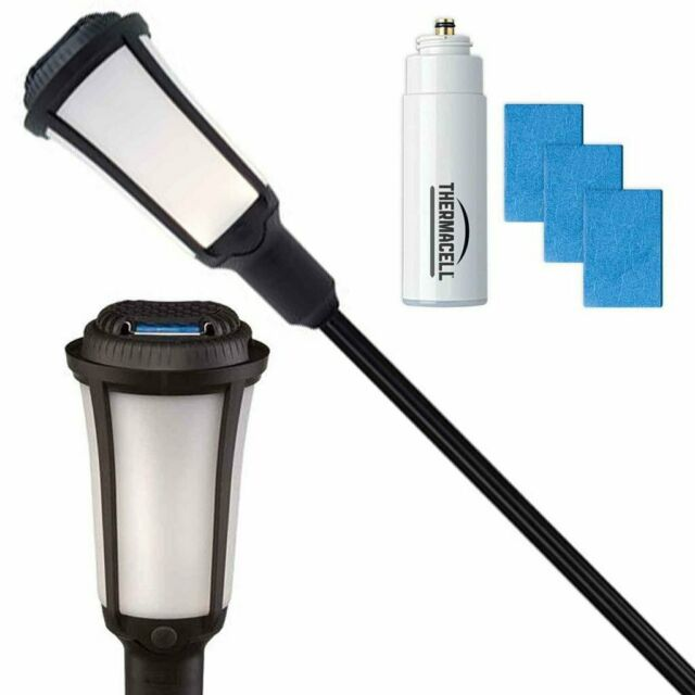 thermacell patio shield mosquito protection torch 15x15 foot zone