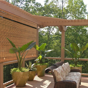 details about shade bamboo window outdoor roll up exterior patio roller blinds shutters shades
