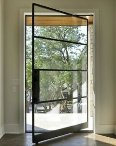 details about 36 x 81 wrought iron metal door made to order
