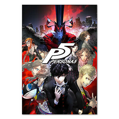 persona 5 poster official art high quality prints ebay
