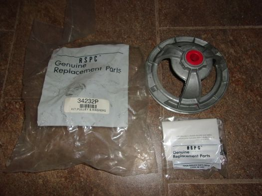 s l1600 - Appliance Repair Parts Alliance Laundry Systems Genuine Parts Groove Pulley P/N 34232P NSN 3020-01-5029