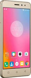 "Lenovo Mobile Phone: K6 Power (Gold, 32GB) 5"" HD 3GB RAM (4G) 13 mp camera"
