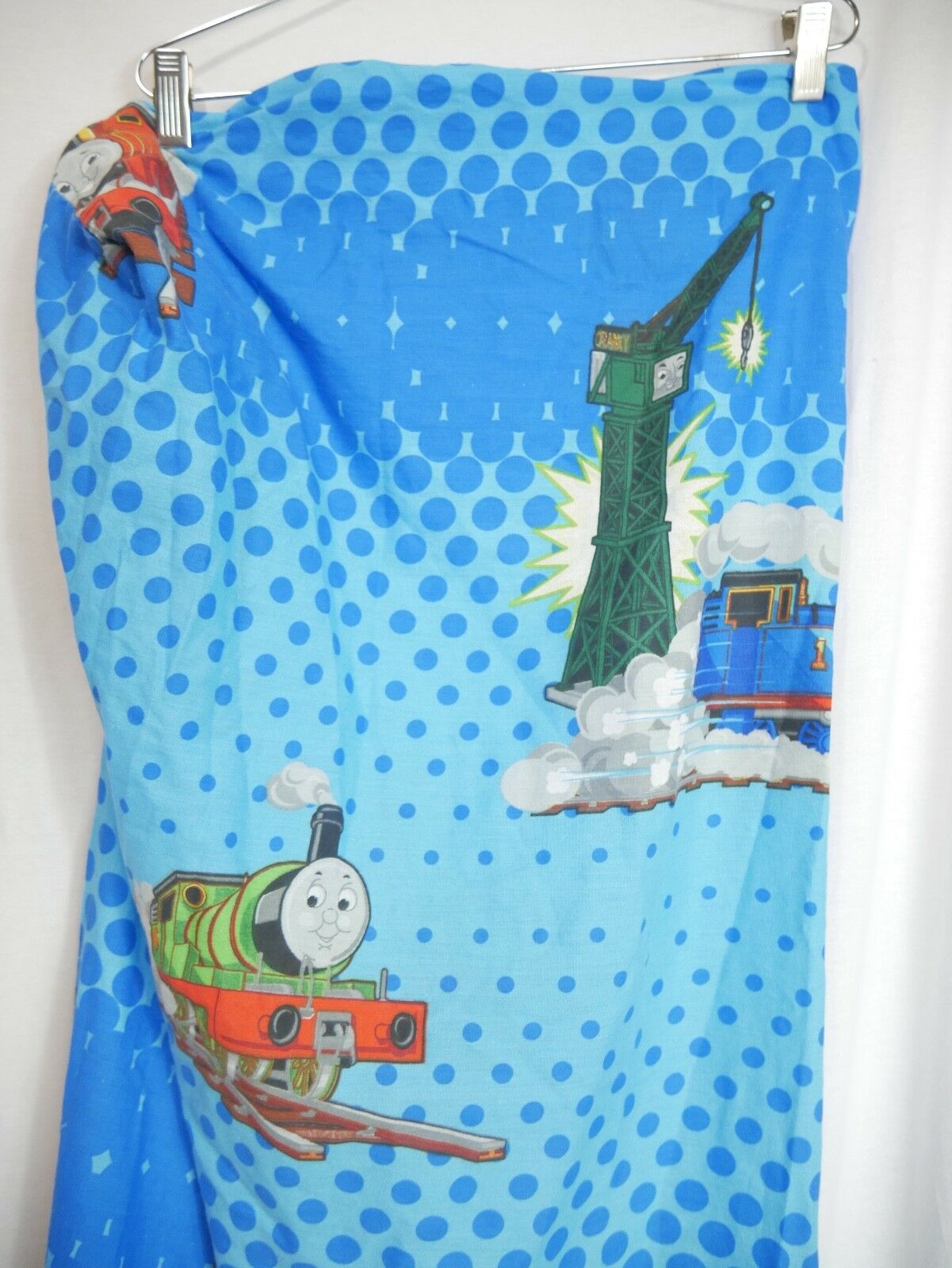 thomas the train twin sheet fitted tank engine bedding blue james percy cranky
