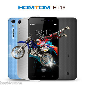 5.0'' HOMTOM HT16 3G Smartphone Android 6.0 MT6580 Quad Core 1G+8G Dual SIM OTA