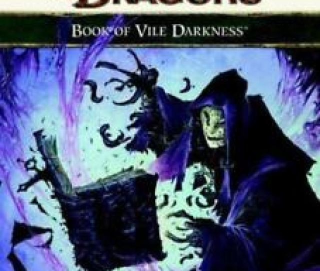 Image Is Loading Dungeons And Dragons Rpg Book Of Vile Darkness
