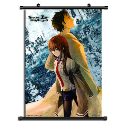 steins gate 0 anime hd canvas print wall poster scroll home decor cosplay home decor vintage nautical home decor posters prints