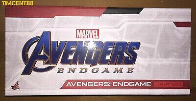 Hot Toys Marvel Avengers Endgame Light Box White NEW