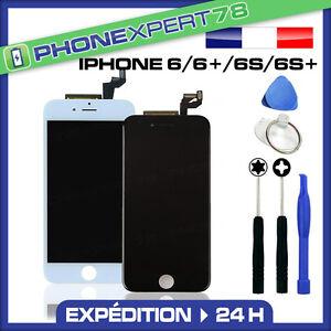 details sur ecran lcd sur chassis vitre tactile iphone 6 6 6s 6s noir blanc