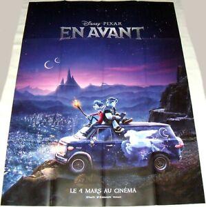 details about onward pixar disney animation large french poster teaser