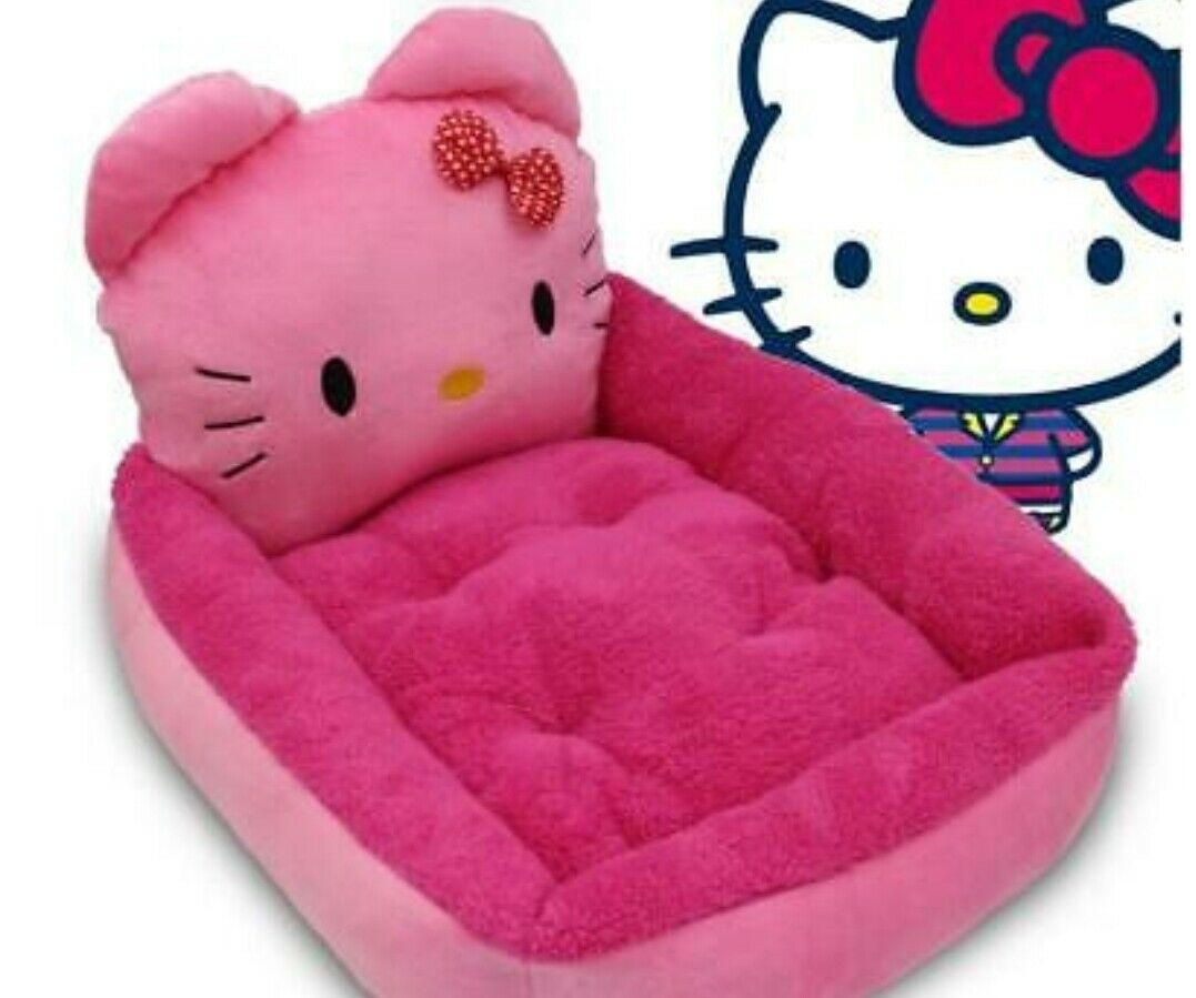 Hello Kitty Whisker Donut Bed Cat Or Dog Hk18 Pet Toy Gift For Sale Online Ebay