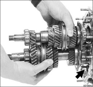 TOYOTA LANDCRUISER GEARBOX TRANSMISSION H41 H42 H50 H55F