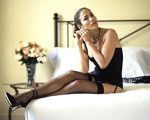 Details About Jennifer Lopez 8x10 Photo Picture Pic Hot Sexy High Heels And Lingerie On Bed 18