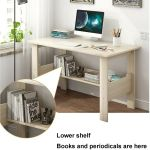 Simple Computer Desk Modern Wood Study Writing Table For Home Office Work For Sale Online Ebay