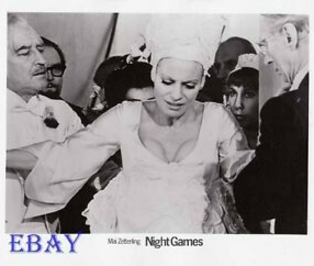 Image Is Loading Busty Babe Night Games Vintage Photo Directed By