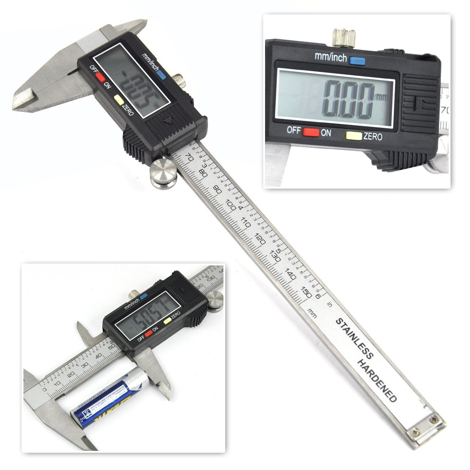 Digital Electronic Gauge Stainless Steel Vernier Caliper
