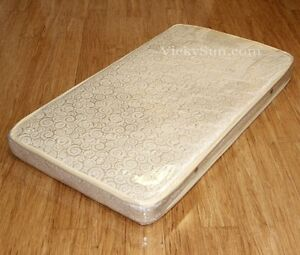 Image Is Loading Breathable Innerspring Cot Mattress 130 X 70