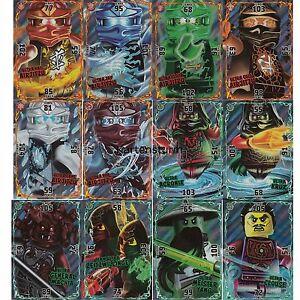 Lego Ninjago Serie 2 Sammelkarten Alle 12 Ultra Karten