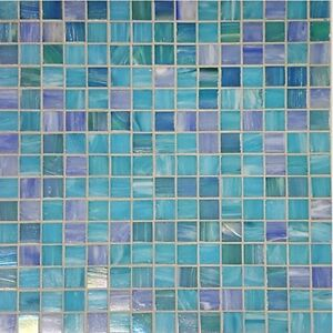 details about mosaic corp modena italian glass mosaic swimming pool waterline tiles