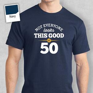 50th Birthday Gift Present Idea For Boys Dad Him Men T Shirt 50 Tee Shirts Ebay