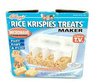 details about kelloggs rice krispies treats maker as seen on tv microwave cookware