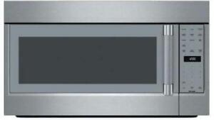 details about thermador professional 30 1 100 watts 2 1 sensor cooking microwave oven mu30wsu