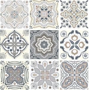 details about modern art tile waterproof self adhesive wall vinyl tile stickers mosaic decal