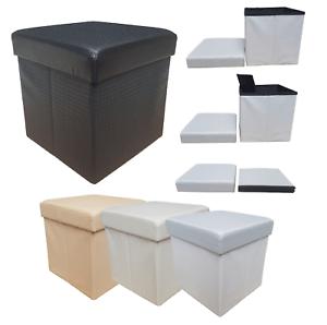 details sur pouf pouf canape recipient pvc pliant repose pied preziosa match