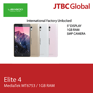 New 5 Inch Leagoo Elite 4 LTE 4G 16GB Factory Unlocked Android Smart Phone