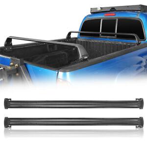 details about crossbar trunk truck bed bike kayak rack bracket for toyota tacoma 2005 2020