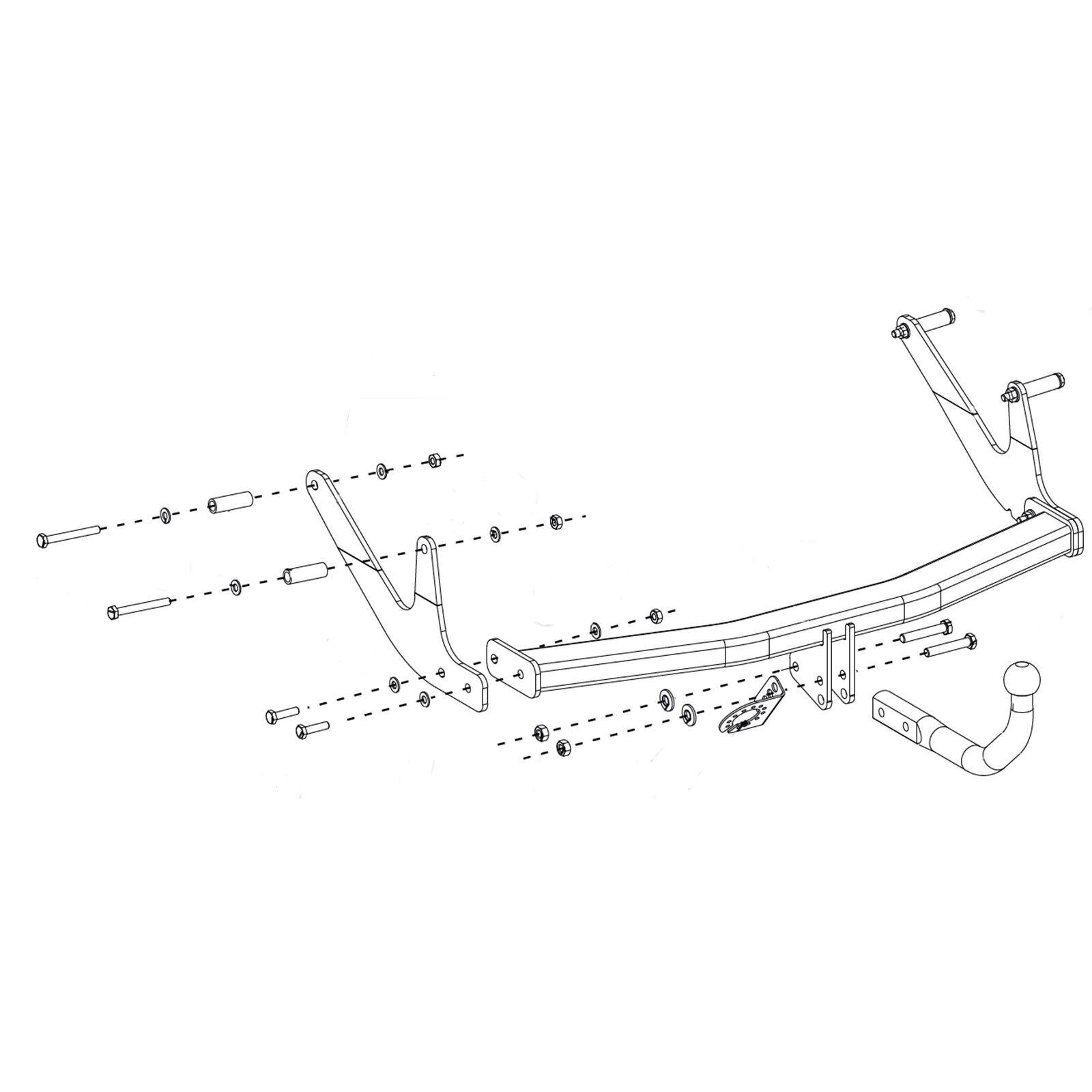 Oris Towbar For Dacia Logan Mcv Estate Onwards