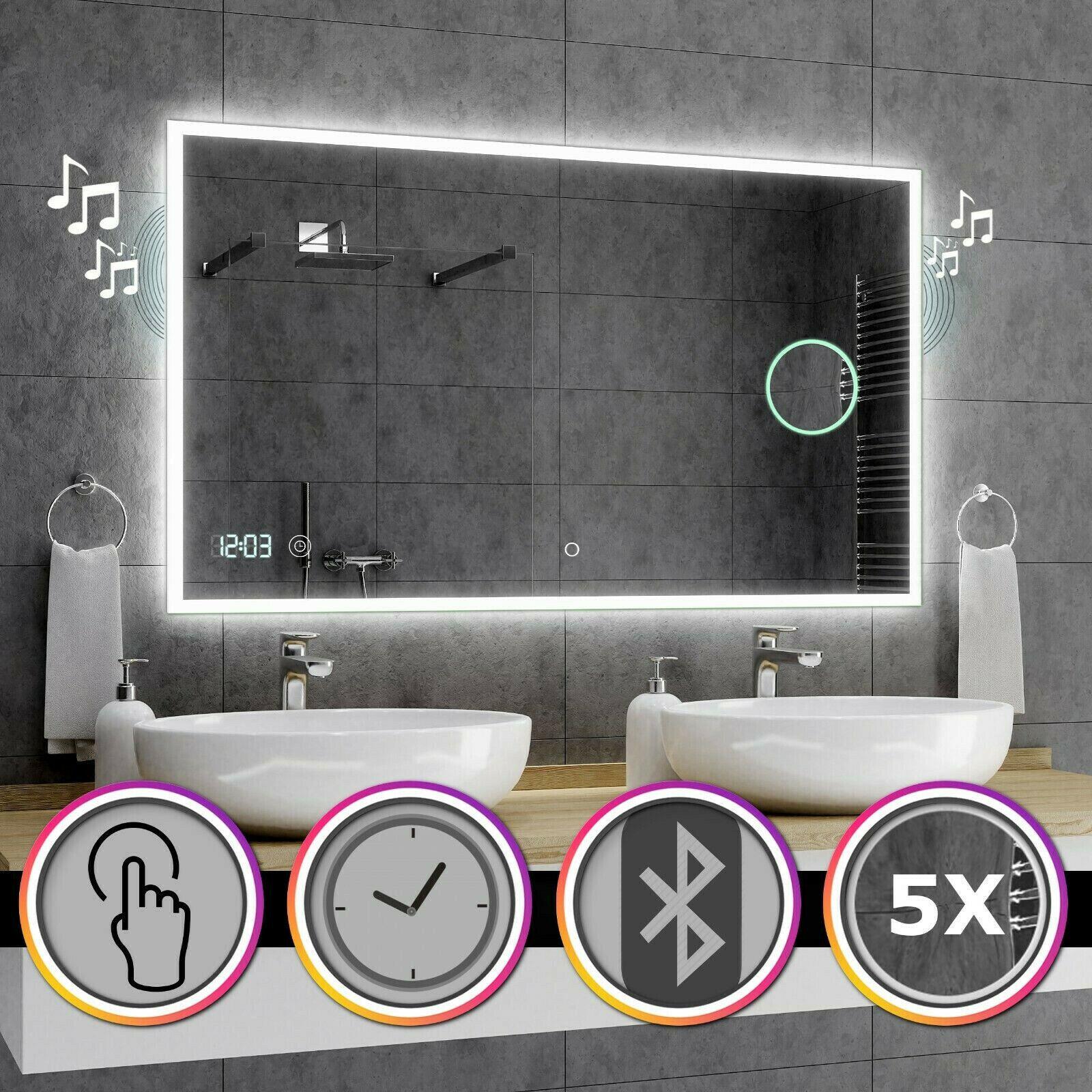 Wand Spiegel Bad Schmink Leuchte Herz Design 34x Led Beleuchtung Deko Lampe Rot Gunstig Kaufen Ebay
