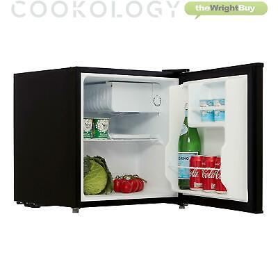 cookology black table top mini fridge ice box freezer beer drinks cooler ebay