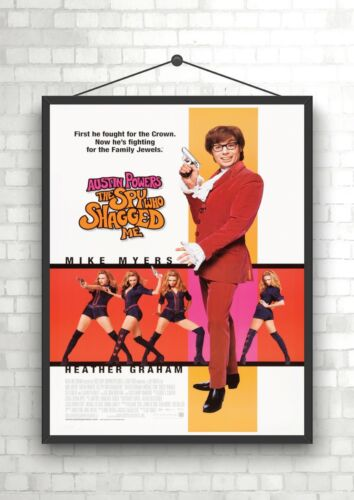 austin powers the spy who shagged me classic large movie poster print art posters art
