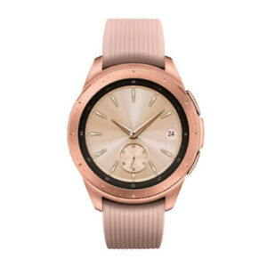 Samsung Galaxy Smart Watch (42mm, Rose Gold) (Renewed)