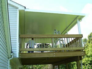 details about 10x20 030 gauge aluminum awning awnings patio cover kit