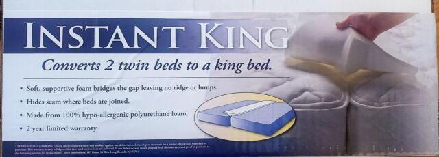 sleep innovations bed bridge