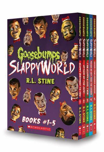 Goosebumps Slappyworld Ser Goosebumps Slappyworld Boxset 1 5 By R L Stine 2018 Uk B Format Paperback For Sale Online Ebay
