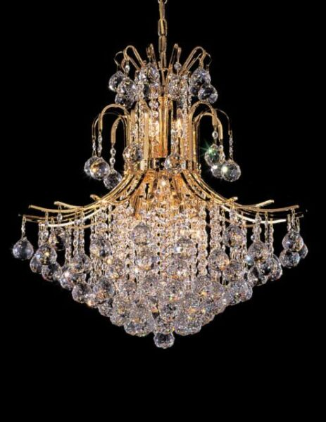 by pecaso 11 light contour chandelier