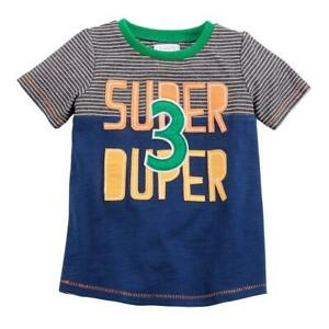 Mud Pie Kids Boys 3rd Birthday 3 Super Duper Party T Shirt 718540537770 Ebay