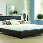 Cheap Bed Frame Double King Size Leather Beds With Memory Foam Mattress Deal Ebay