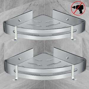 details sur renfox etagere d angle de douche etagere de salle de bain sans forage antirou
