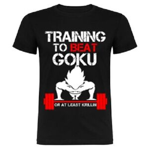 Camiseta Training to beat Goku - Dragon Ball shirt