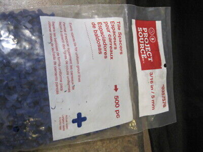 tile stone spacers 3 16 5mm bag of 500 project source new sealed 645382052553 ebay