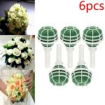 Wedding Bouquet Holder Bride Flowers Handle Diy Bridal Floral Foam Jewelled For Sale Ebay