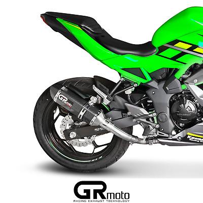exhaust for kawasaki ninja z 125 2019 2020 grmoto carbon ebay