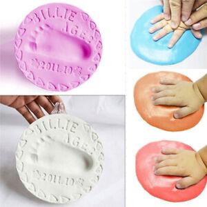 Super Weich Luft Trockner Ton Hand Fuß Geschenk Fürs Baby Impressum Set Abdruck