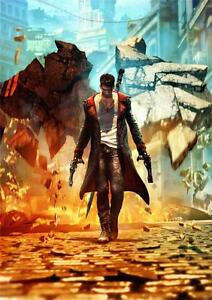 details about dmc devil may cry 4 a3 promo poster g164