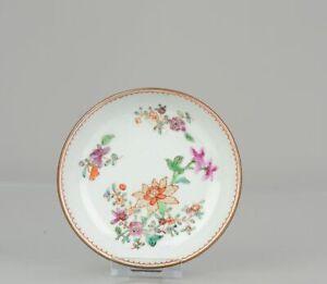 Antique 18C Chinese Porcelain Famille Rose Qianlong Batavian dish China