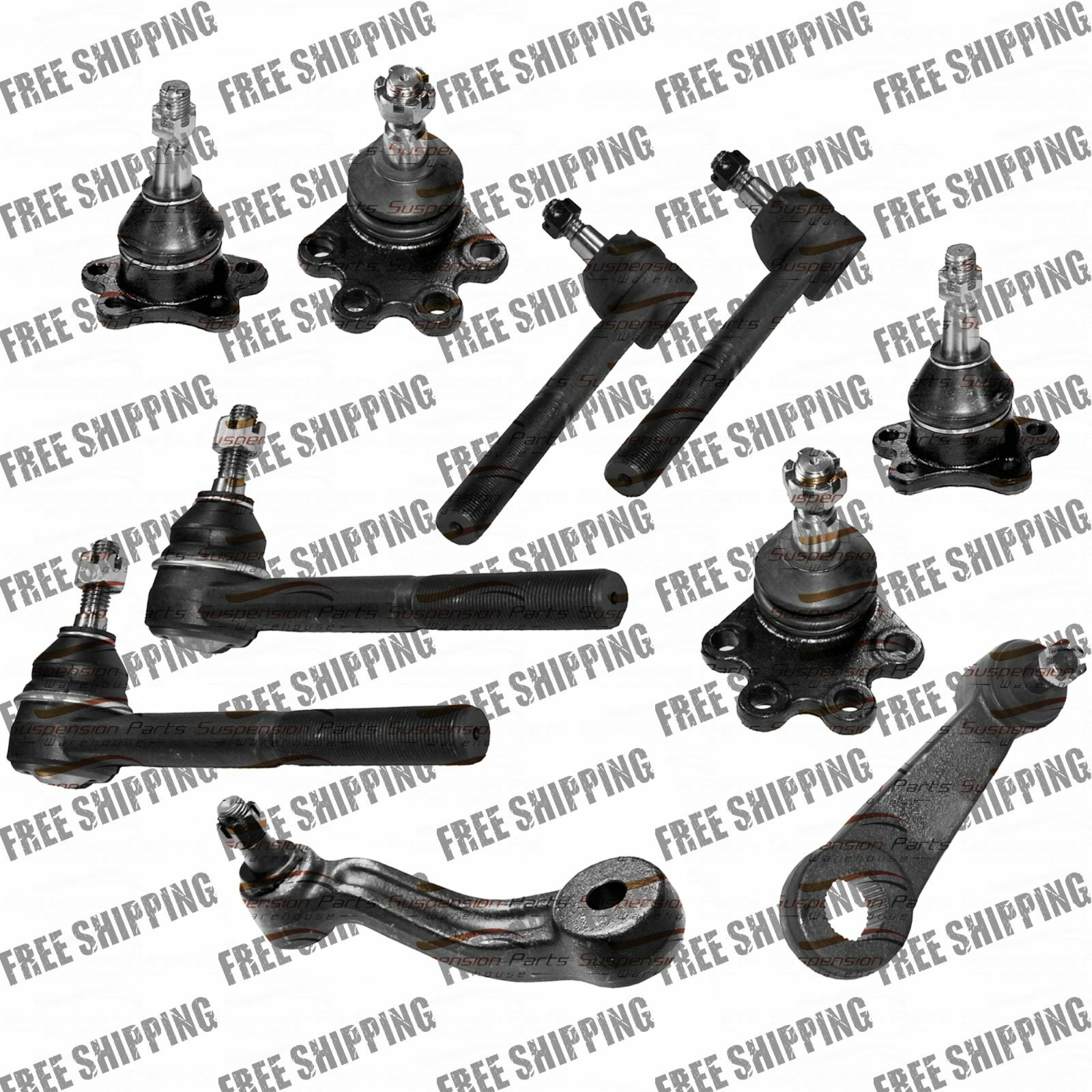 4wd Gmc K K K Suspension Part Ball Joint Bolt On Type Tie Rods